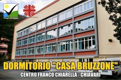 Dormitorio Casa Bruzzone - Centro Franco Chiarella Chiavari