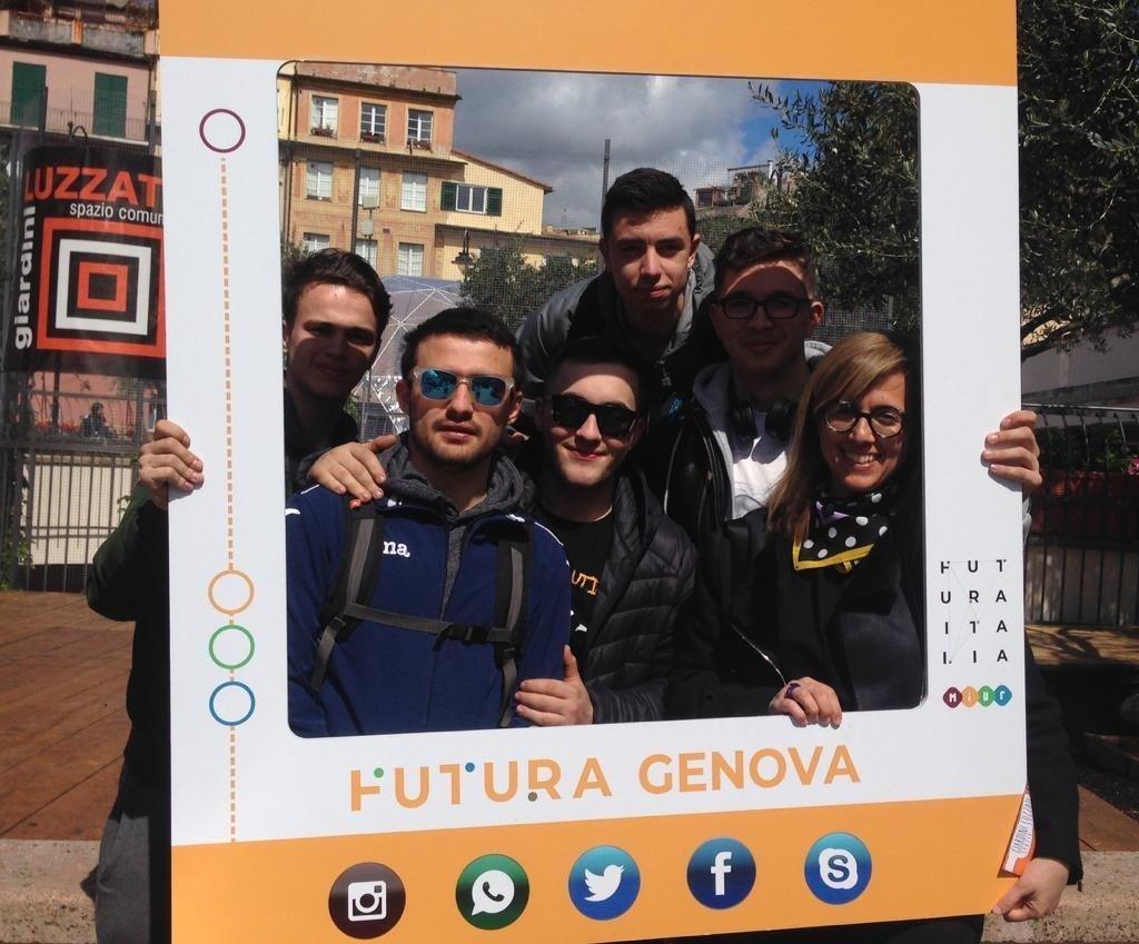 Gli allievi del CFP Spinelli a #FuturaGenova 2019