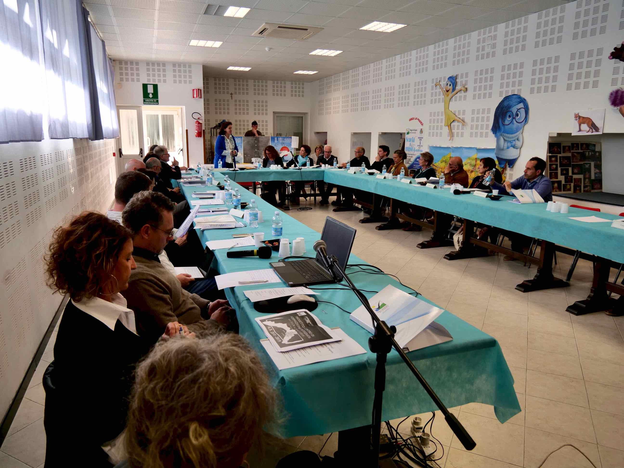 Riunione 2019 Centro Formazione Integrata Villaggio del Ragazzo - 1
