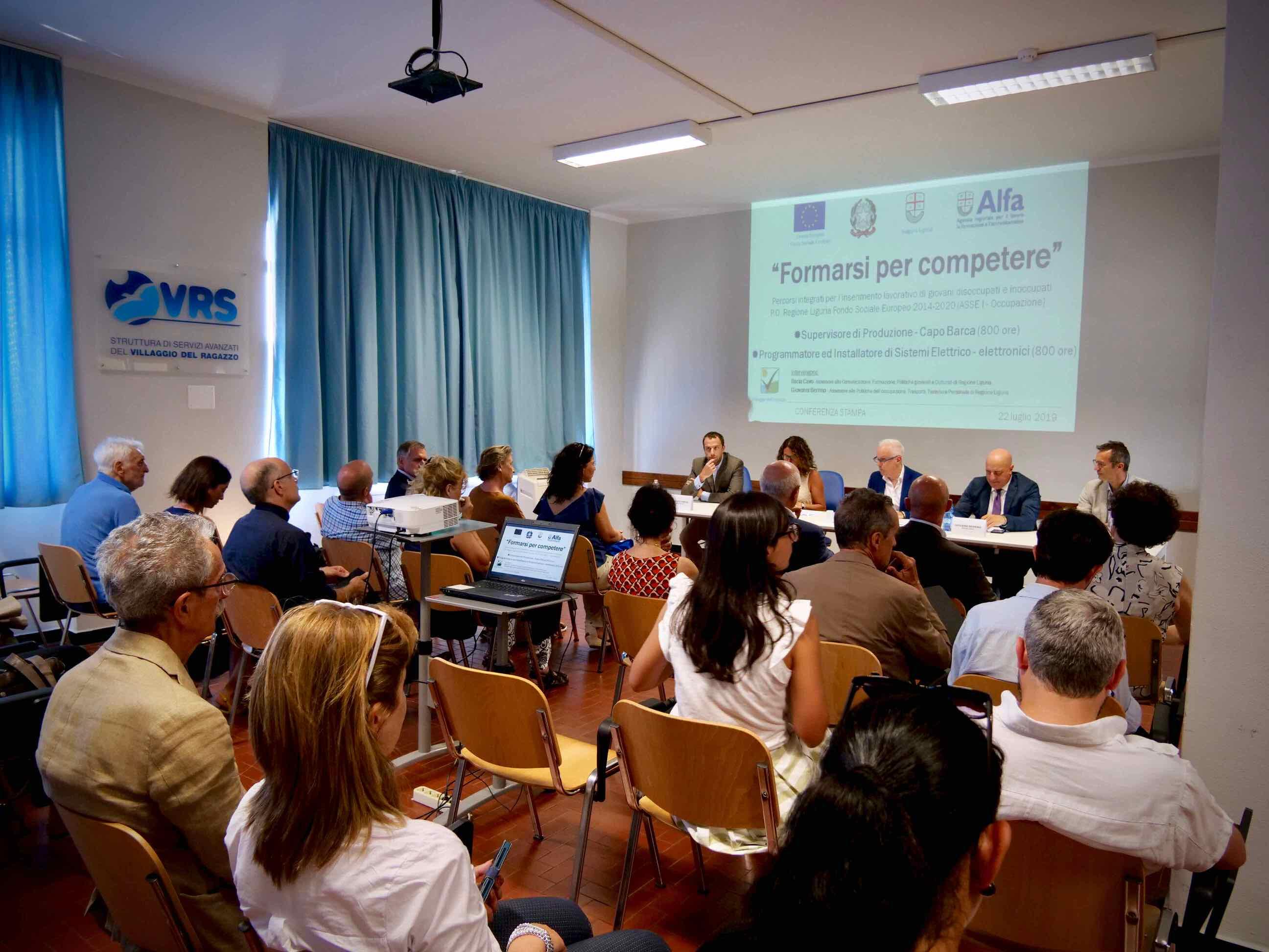 Conferenza Stampa presentazione Corsi Formarsi per Competere 2019.07.22 - 3