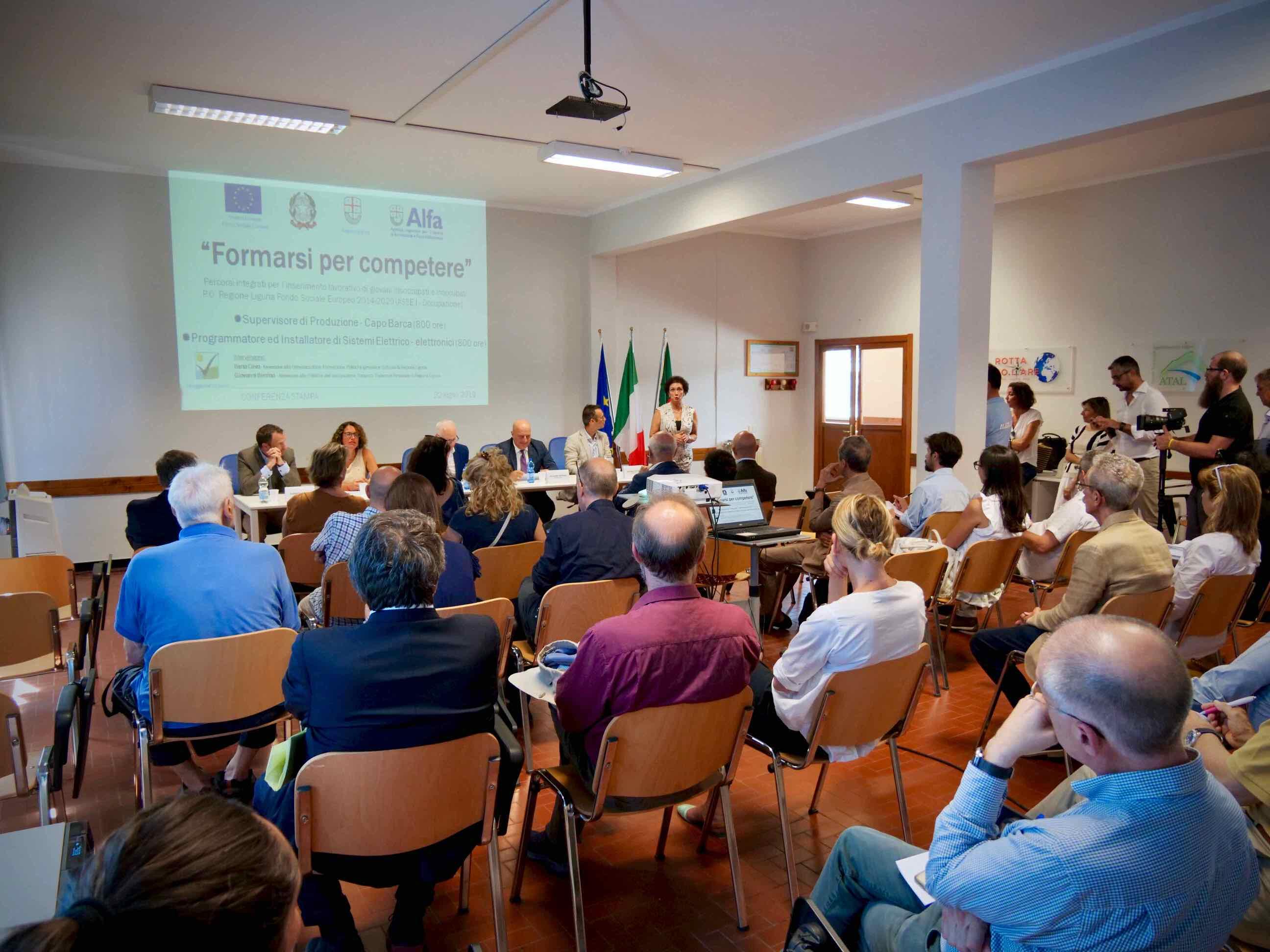 Conferenza Stampa presentazione Corsi Formarsi per Competere 2019.07.22 - 4