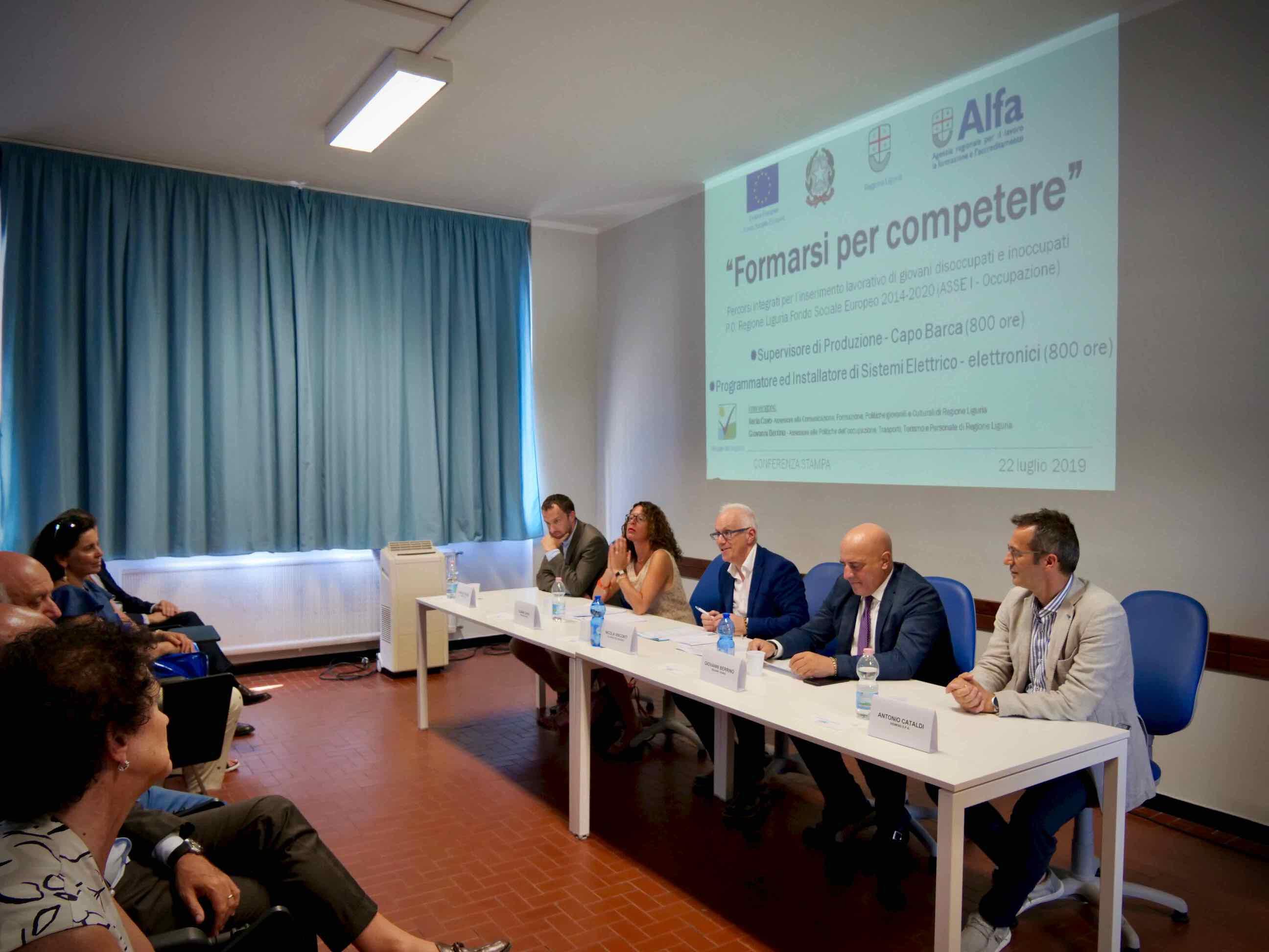 Conferenza Stampa presentazione Corsi Formarsi per Competere 2019.07.22 - 5
