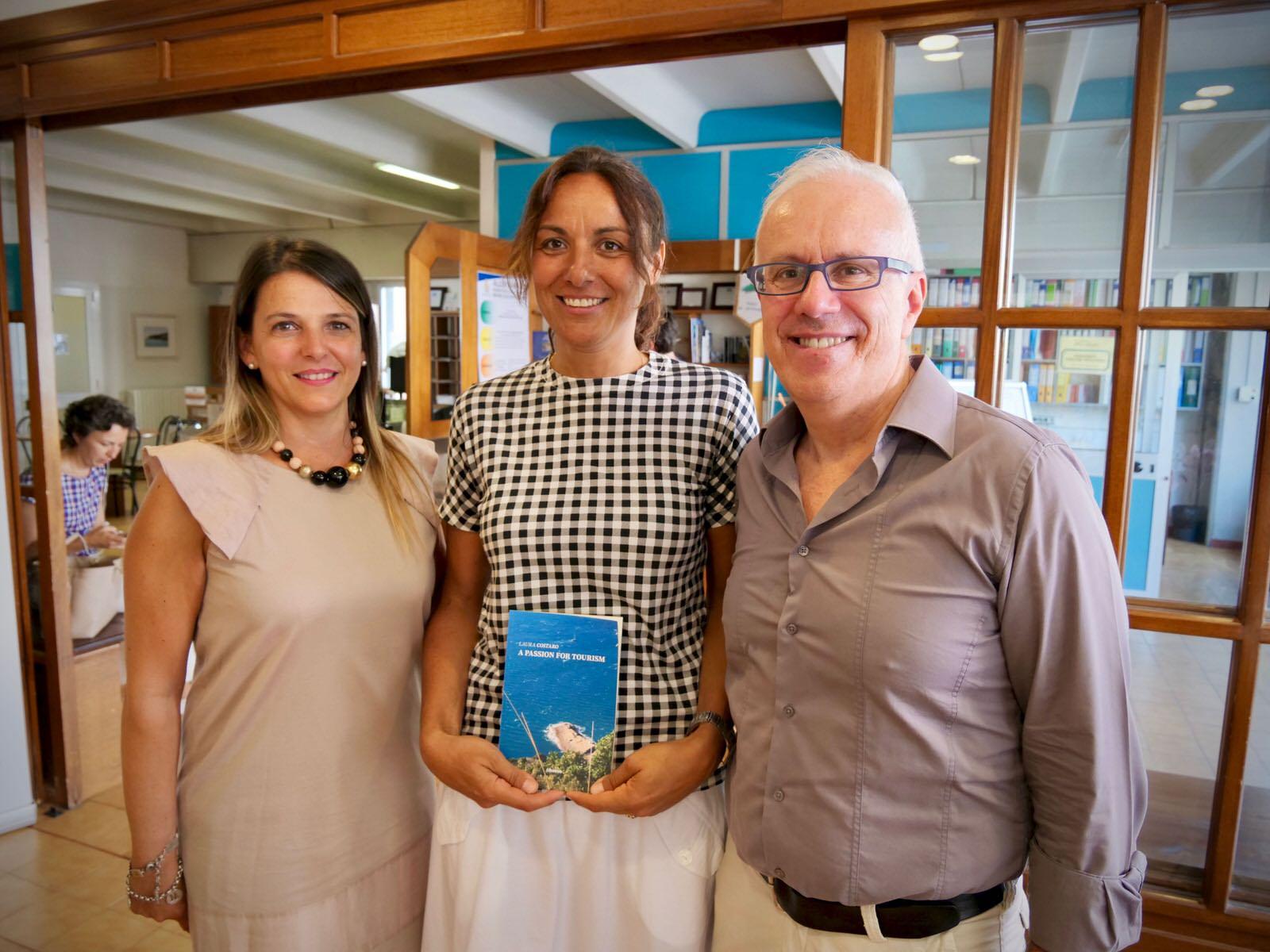 Conferenza Stampa presentazione libro Laura Costaro - A Passion for Tourism 2019.07.26 - 1