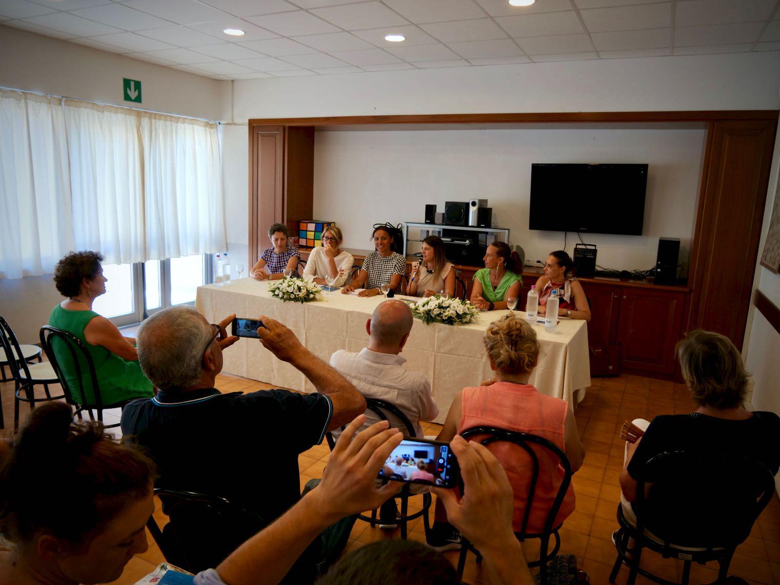 Conferenza Stampa presentazione libro Laura Costaro - A Passion for Tourism 2019.07.26 - 2