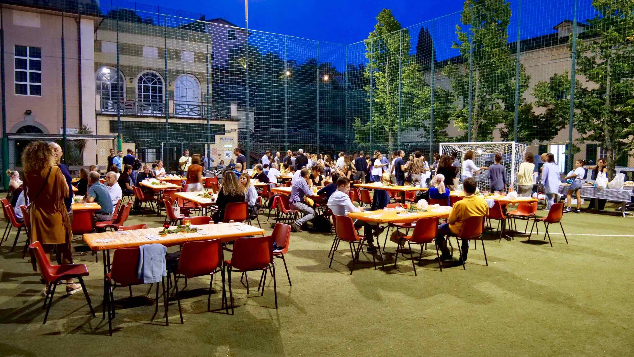 Immagini dalla festa dei dipendenti in occasione del 20° anniversario del Centro Benedetto Acquarone