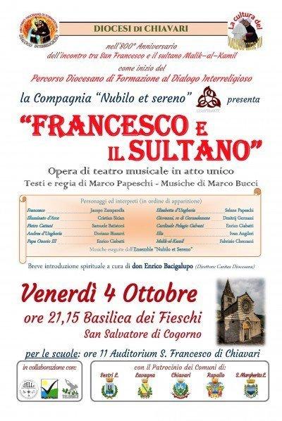 Francesco e il Sultano - 4 ottobre