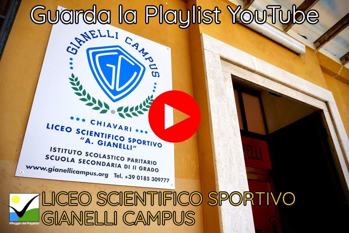 Liceo Scientifico Sportivo Gianelli Campus - Copertina Playlist YouTube