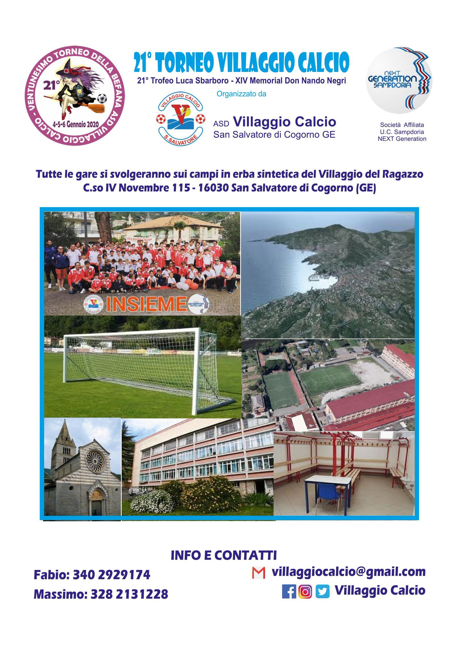 Torneo della Befana - XIV Memorial don Nando Negri - 21° Trofeo Luca Sbarboro 01