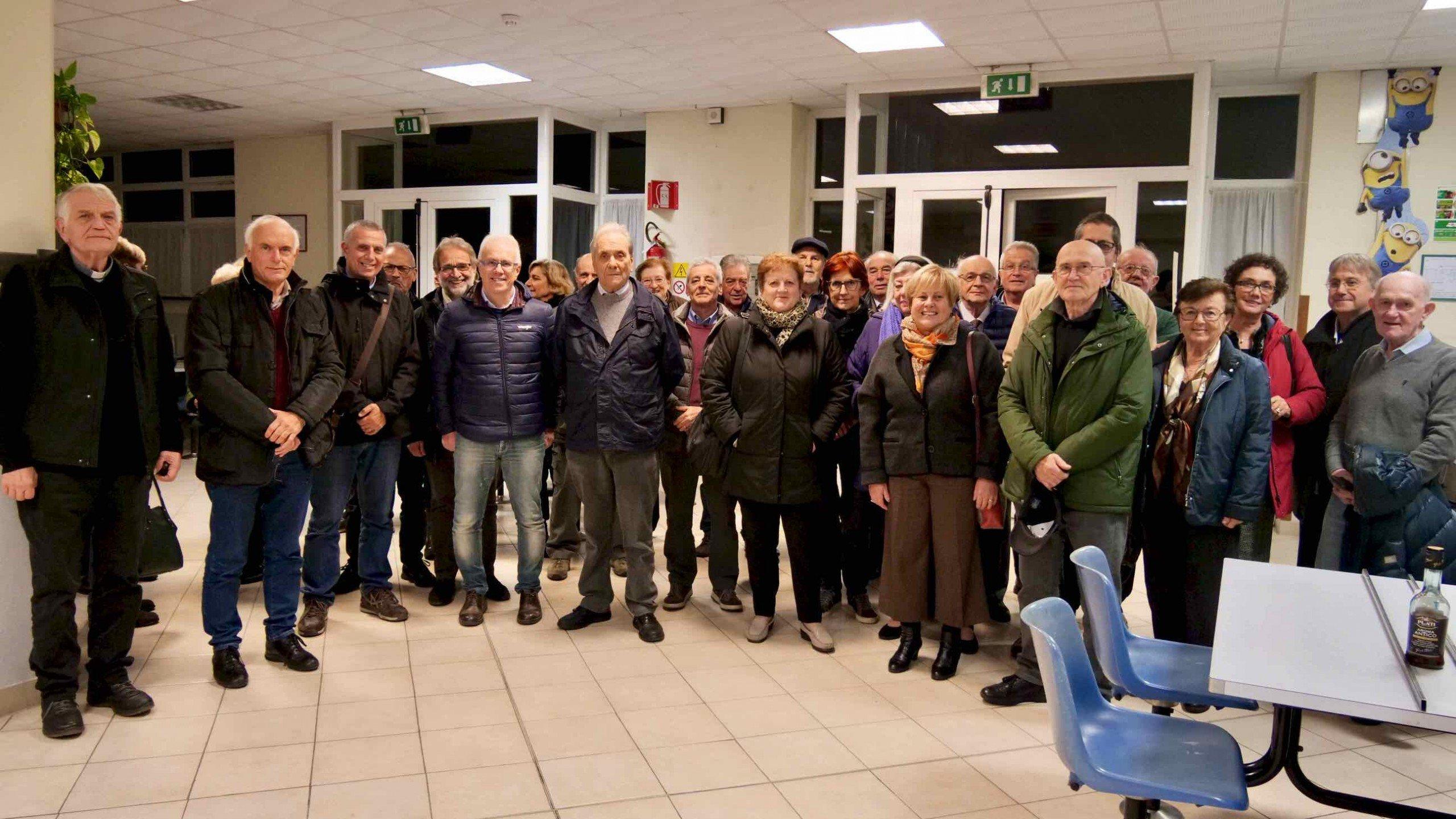 Incontro 2019 Ex Lavoratori del Villaggio del Ragazzo al Centro San Salvatore