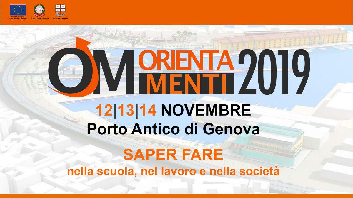 Anche il Villaggio del Ragazzo al 24° Salone Orientamenti dal 12 al 14 novembre 2019 al Porto Antico di Genova