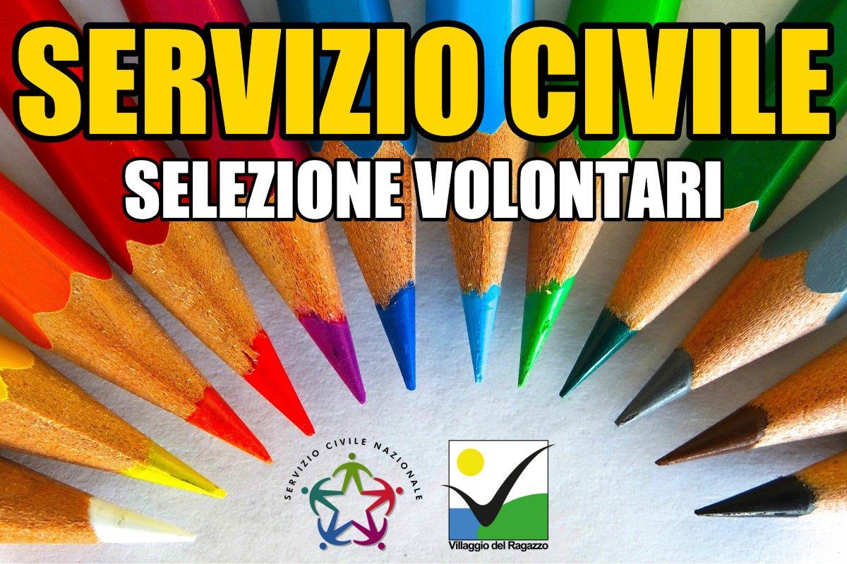 Servizio Civile - Selezione volontari