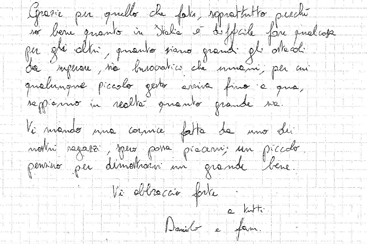 Lettera da Lucma